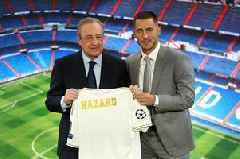 Eden Hazard reveals the meeting with Real Madrid in London that convinced him to leave Chelsea
