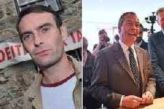 Campaigner who blocked road to Nigel Farage Brexit Party rally in Merthyr fined