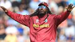 Cricket World Cup: Chris Gayle lights up Hampshire Bowl during England v West Indies