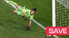 Women's World Cup 2019: Correa's brilliant save denies Parris from the penalty spot