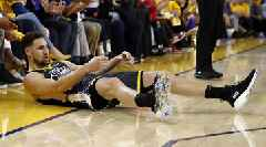 Klay Thompson Exits in Third Quarter of Game 6 With Left Knee Injury