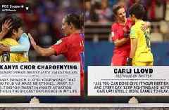 Women's World Cup NOW™: Carli Lloyd, Thailand GK make touching connection on social media