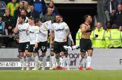 Key numbers from Derby County's memorable season