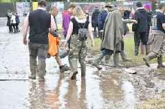 Woman dislocates hip in Download Festival mud bath