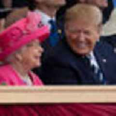 Trump says his time with the Queen was most fun she's had in 25 years