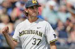 Michigan opens College World Series with 5-3 victory over Texas Tech