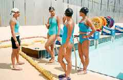 These desi babes are swimming to success