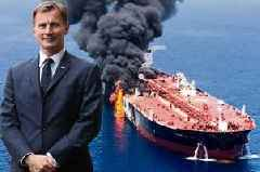 Foreign Secretary Jeremy Hunt warns of risk of war with Iran after oil tanker attacks