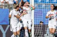 2019 FIFA Women's World Cup™: Germany's Lina Magull buries the point-blank rebound to go up 4-0 vs. South Africa | HIGHLIGHTS