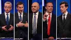 Stewart in Brexit clash with Tory hopefuls