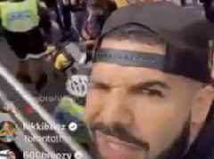 Watch: Drake Turns Up + Shows Live Footage From Raptors Championship Parade