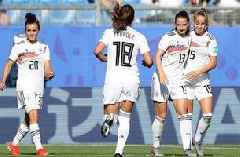 2019 FIFA Women's World Cup™: Germany make it 2-0 after South Africa keeper's gaffe on the save   HIGHLIGHTS