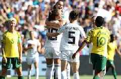 2019 FIFA Women's World Cup™: Germany score a wide-open header off the corner vs. South Africa | HIGHLIGHTS