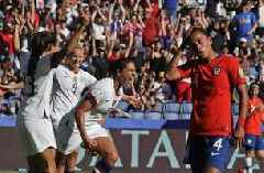 Sunday's US win most-watched Women's World Cup group match