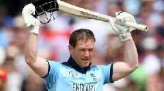 England v Afghanistan: Eoin Morgan hits record 17 sixes in World Cup win