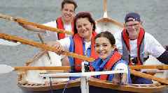 'Perfect stage' of Loch Ryan set for rowing battle