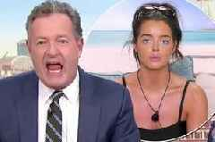 Furious Piers Morgan demands Love Island's Maura be arrested over 'predatory' advances towards Tommy