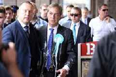 Man who attacked Nigel Farage with £5.25 Five Guys milkshake pleads guilty
