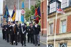 Flag raised as countdown to North Lincolnshire Armed Forces Day gathers pace