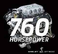 2020 Mustang Shelby GT500 V8 Engine Output Confirmed: 760 HP and 625 Lb.-Ft.