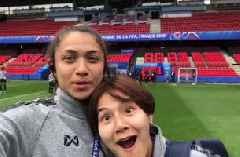 Thailand's Miranda Nild previews match vs. Chile from the team hotel in behind-the-scenes exclusive