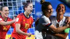 Women's World Cup 2019: Key USA pair Morgan and Ertz fit to face Spain