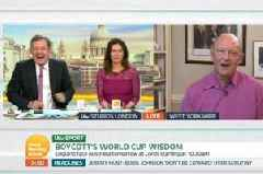 Geoffrey Boycott GMB Brexit speech branded 'greatest since Churchill' by Piers Morgan - but viewers are livid
