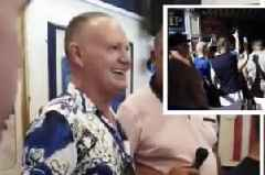 Rangers legend Gazza filmed singing foul-mouthed sectarian rant in Benidorm's Ibrox Bar