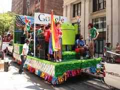 Google is warning employees who want to march with the company at San Francisco's Pride parade that they're not allowed to protest YouTube's LGBTQ+ policies (GOOG, GOOGL)