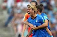 2019 FIFA Women's World Cup™: Italy's Valentina Giacinti scores the rebound to go up 1-0 vs. China   HIGHLIGHTS