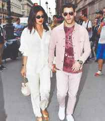 Priyanka Chopra hangs out with Sophie Turner in Paris ahead of the latter's wedding with Joe Jonas
