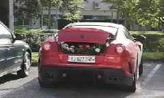 Ferrari 599 GTO Delivers Flowers in Switzerland, Driven By a Lady