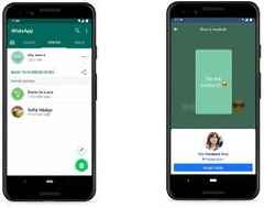 WhatsApp tests feature that shares your status to Facebook and other apps