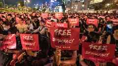 Hong Kong Protesters Petition G-20 Leaders To Take Up Their Cause