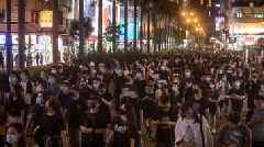 Thousands March In Hong Kong To Protest Extradition Law