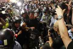 Hong Kong protesters vow to keep up pressure