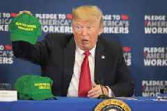 Trump says China is 'letting us down' by not buying American farm exports