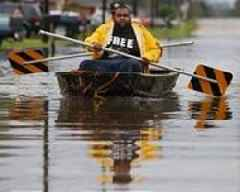 New Orleans threatened by floods as big storm forms