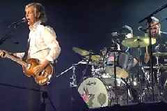 Paul McCartney and Ringo Starr Reunite Onstage to Perform Beatles Classics (Video)