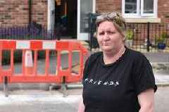 Housing firm 'strongly committed to safety of residents' after woman breaks bones tripping over kerb in street 'not resurfaced in six years'