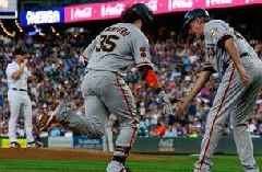 Vogt, Crawford back-to-back home runs enough to power Giants past Rockies