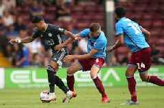 Ayoze Perez off the mark for Leicester City as pre-season begins with win at Scunthorpe United