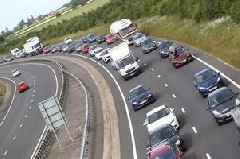 A1 traffic: Live updates as road closed by burst water pipe flooding carriageway