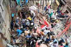 Mumbai: Building collapse in Dongri, 2 dead and 3 injured