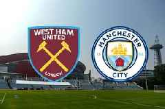 West Ham vs Man City live: Kick off time, goal updates, latest score and team news from China