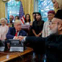 Christchurch mosque shootings: Survivor Farid Ahmed meets Donald Trump at White House