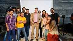 Exclusive Glimpses from Salman Khan's Shoot for BharatPe's New Advertising Campaign