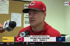 David Bell on Eugenio Suarez: 'He wants to be the guy...he's a bigtime player'