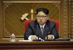 Kim Jong Un inspects new submarine as he orders military to be bolstered