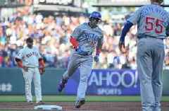 Robel Garcia crushes ball into McCovey Cove, but Cubs fall to Giants
